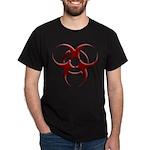 3D Biohazard Symbol Dark T-Shirt