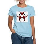 3D Biohazard Symbol Women's Light T-Shirt
