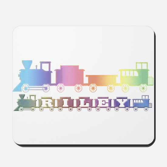 Personalized Train Mousepad