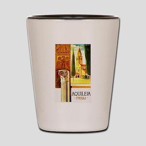 Aquileia Italy - Vintage Travel Shot Glass