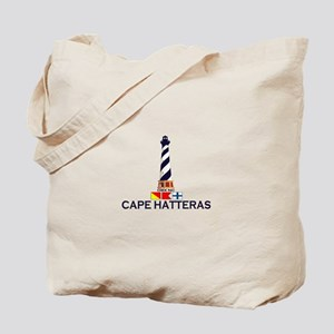 Cape Hatteras NC - Lighthouse Design Tote Bag