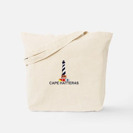 Cape Hatteras NC - Lighthouse Design Tote Bag