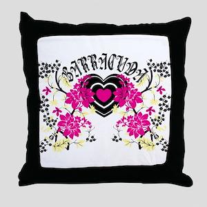 Barracuda Heart Throw Pillow