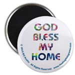 GOD Bless My Home Magnet