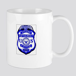 DOD Police Badge Mug