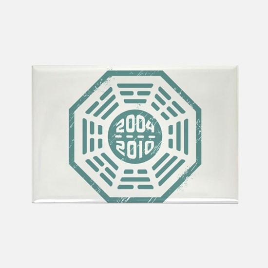 LOST Dharma 2004 - 2010 ocean-green Rectangle Magn
