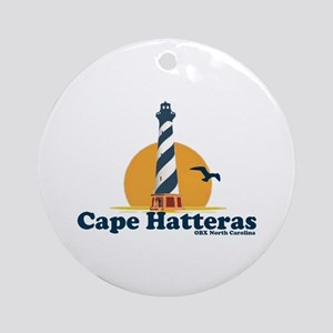 Cape Hatteras NC - Lighthouse Design Ornament (Rou