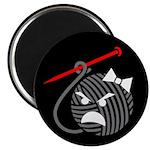 """Liv [Black Background] 2.25"""" Magnet (100 pack)"""
