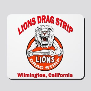 Lions Drag Strip Mousepad