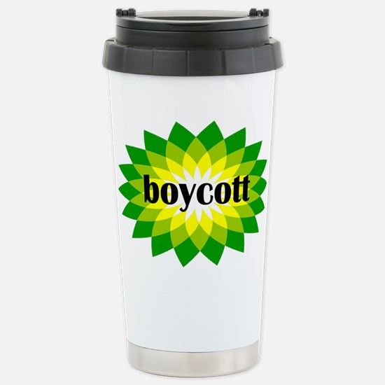 Boycott BP Gulf Oil Spill T-shirts and Stickers Ce