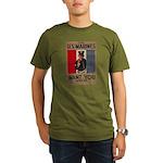 The U.S. Marines Want You Organic Men's T-Shirt (d