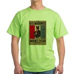 The U.S. Marines Want You Green T-Shirt