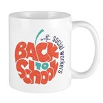 back to school with social workers Mugs