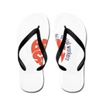 back to school with social workers Flip Flops