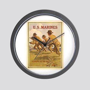Soldiers of the Sea Wall Clock