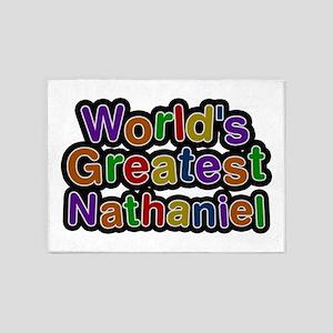 World's Greatest Nathaniel 5'x7' Area Rug