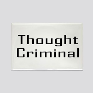 Thought Criminal Rectangle Magnet