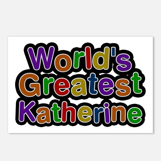 World's Greatest Katherine Postcards 8 Pack