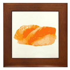 Salmon Ngiri Framed Tile