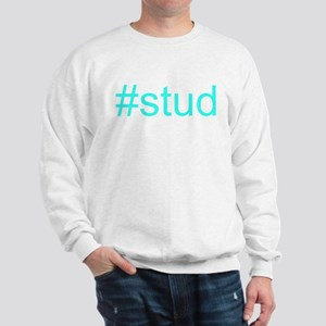 """#stud"" Sweatshirt"