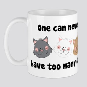 Never Too Many Cats Mug