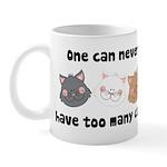 Never Too Many Cats Mug