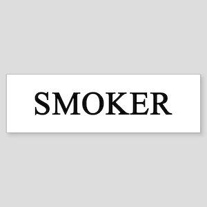 smoker Bumper Sticker