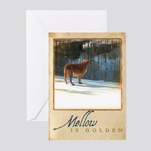 """""""Mellow Is Golden"""" Greeting Cards (Pk of 10)"""