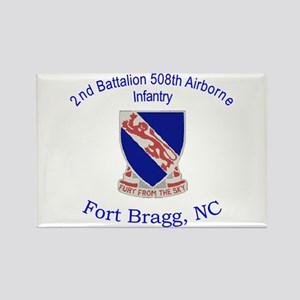 2nd Bn 508th ABN Rectangle Magnet