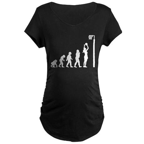 Netball Maternity Dark T-Shirt