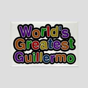 World's Greatest Guillermo Rectangle Magnet