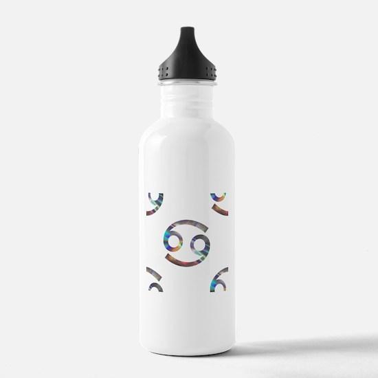 hologram cancer Water Bottle