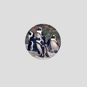 Penguin Parade Mini Button