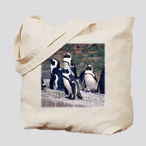 Penguin Parade Tote Bag