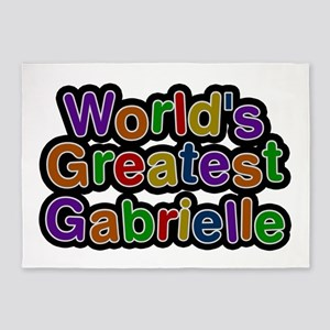 World's Greatest Gabrielle 5'x7' Area Rug