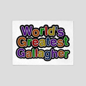 World's Greatest Gallagher 5'x7' Area Rug