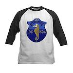 USS INGRAHAM Kids Baseball Jersey