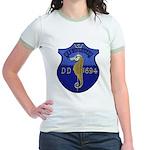USS INGRAHAM Jr. Ringer T-Shirt