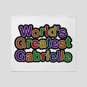 World's Greatest Gabrielle Throw Blanket