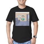 Fishbowl Drone Men's Fitted T-Shirt (dark)