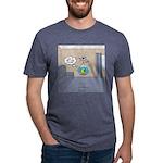 Fishbowl Drone Mens Tri-blend T-Shirt