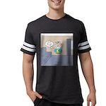 Fishbowl Drone Mens Football Shirt