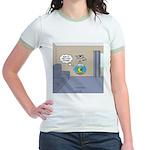 Fishbowl Drone Jr. Ringer T-Shirt