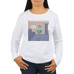 Fishbowl Drone Women's Long Sleeve T-Shirt