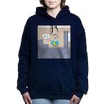 Fishbowl Drone Women's Hooded Sweatshirt