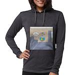 Fishbowl Drone Womens Hooded Shirt