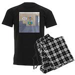 Fishbowl Drone Men's Dark Pajamas