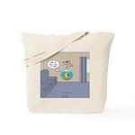 Fishbowl Drone Tote Bag