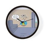 Fishbowl Drone Wall Clock