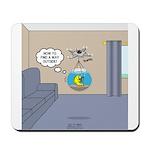 Fishbowl Drone Mousepad